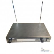 MICROFONE JIAXI DUPLO MAO UHF S/FIO WG2009